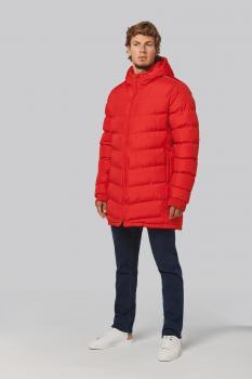 Pánská sportovní zimní bunda s kapucí