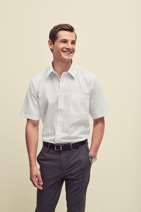 Pánská popelínová košile kr.rukáv Short Sleeve Popelin Shirt - zvìtšit obrázek