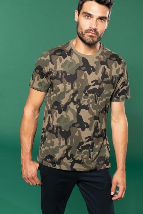 Pánské trièko Camo camouflage - zvìtšit obrázek