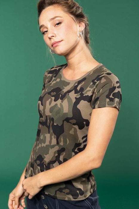 Dámské trièko Camo camouflage - zvìtšit obrázek