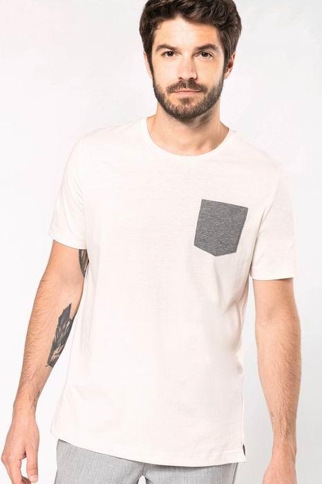 Organické trièko s kapsièkou - zvìtšit obrázek