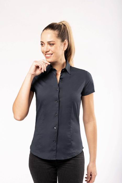 Dámská streèová košile s krátkým rukávem - zvìtšit obrázek
