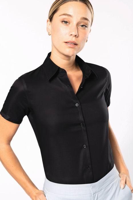 Dámská košile s krátkým rukávem v nežehlivé úpravì - zvìtšit obrázek