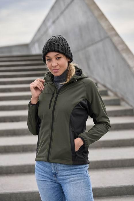 Dámská softshellová bunda s kapucí - zvìtšit obrázek
